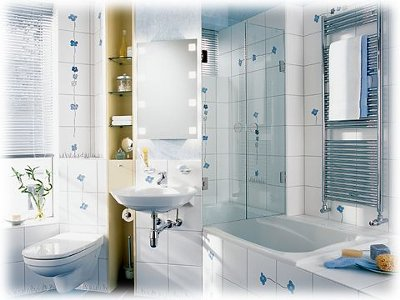 Small-bathroom-with-mirror-white-sink-lira-glass-shower-and-tiling-walls-with-white-small-bath-tub